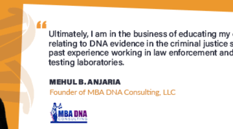 Mehul B. Anjaria on DNAWEEKLY.com