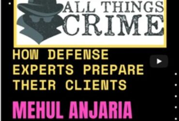 Mehul Anjaria on All Things Crime